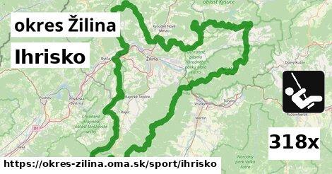 ihrisko v okres Žilina