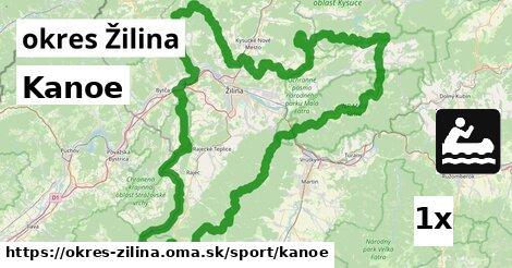 ilustračný obrázok k Kanoe, okres Žilina
