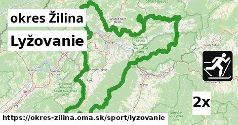 ilustračný obrázok k Lyžovanie, okres Žilina
