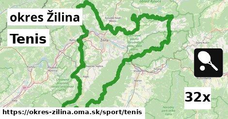 ilustračný obrázok k Tenis, okres Žilina
