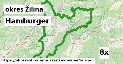 hamburger v okres Žilina