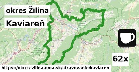 kaviareň v okres Žilina