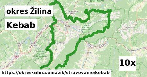 ilustračný obrázok k Kebab, okres Žilina