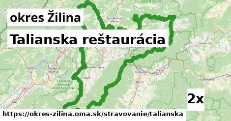 ilustračný obrázok k Talianska reštaurácia, okres Žilina