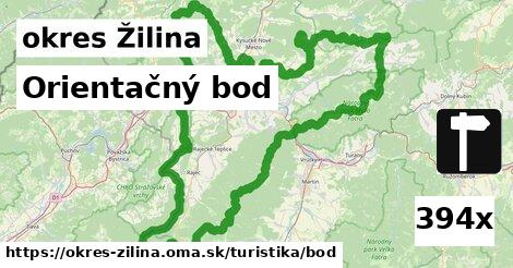 orientačný bod v okres Žilina