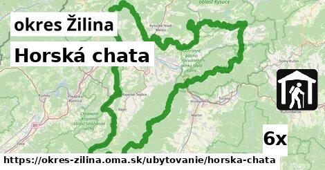 ilustračný obrázok k Horská chata, okres Žilina