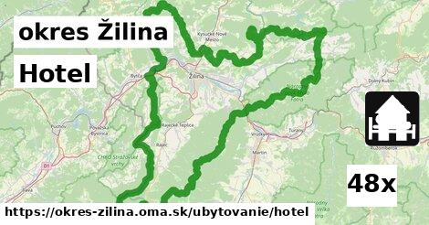 ilustračný obrázok k Hotel, okres Žilina