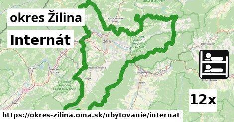 internát v okres Žilina