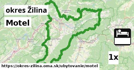 ilustračný obrázok k Motel, okres Žilina