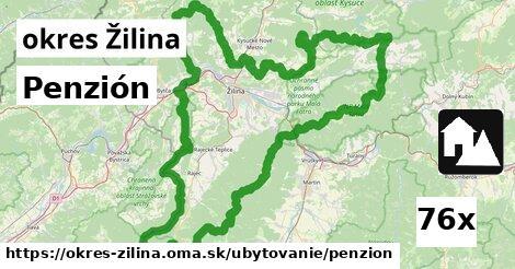 ilustračný obrázok k Penzión, okres Žilina