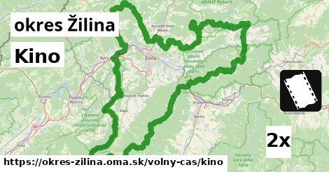 ilustračný obrázok k Kino, okres Žilina