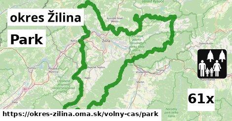 ilustračný obrázok k Park, okres Žilina