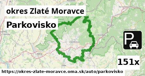 Parkovisko, okres Zlaté Moravce