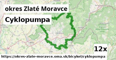 Cyklopumpa, okres Zlaté Moravce