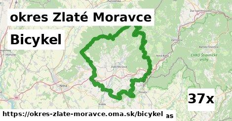 bicykel v okres Zlaté Moravce