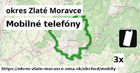 Mobilné telefóny, okres Zlaté Moravce