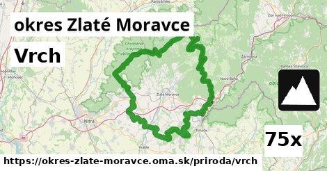 vrch v okres Zlaté Moravce