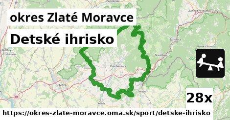 Detské ihrisko, okres Zlaté Moravce