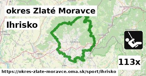 Ihrisko, okres Zlaté Moravce