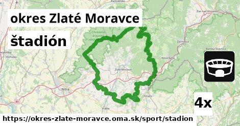 štadión, okres Zlaté Moravce