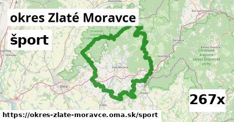šport v okres Zlaté Moravce