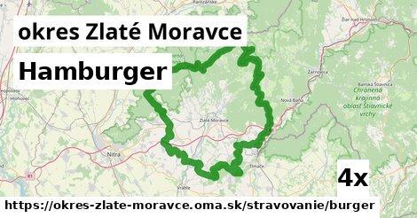 Hamburger, okres Zlaté Moravce