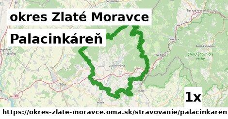 Palacinkáreň, okres Zlaté Moravce
