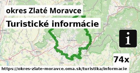 turistické informácie v okres Zlaté Moravce