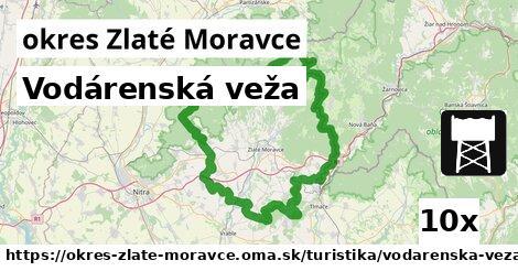 ilustračný obrázok k Vodárenská veža, okres Zlaté Moravce
