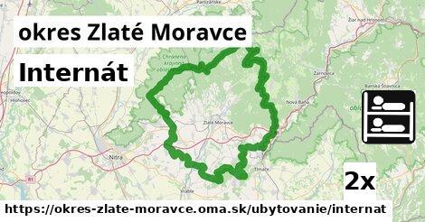 Internát, okres Zlaté Moravce