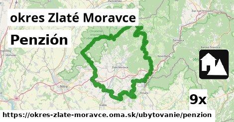 Penzión, okres Zlaté Moravce
