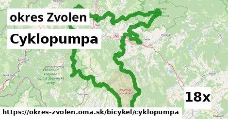 ilustračný obrázok k Cyklopumpa, okres Zvolen