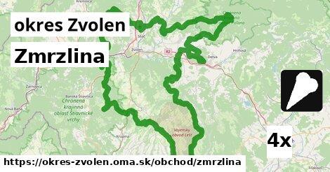 ilustračný obrázok k Zmrzlina, okres Zvolen