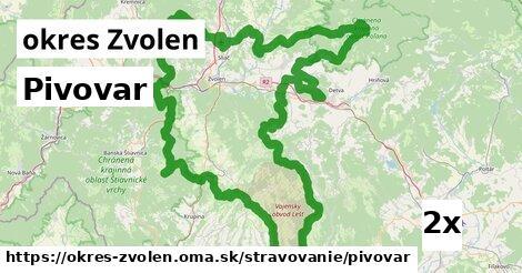 ilustračný obrázok k Pivovar, okres Zvolen