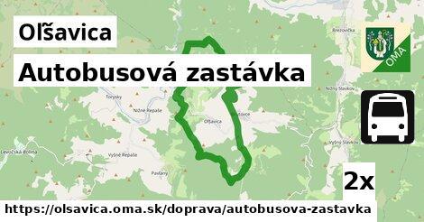 ilustračný obrázok k Autobusová zastávka, Oľšavica