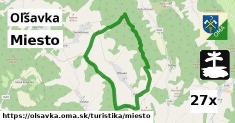 ilustračný obrázok k Miesto, Oľšavka