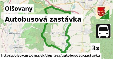 ilustračný obrázok k Autobusová zastávka, Olšovany