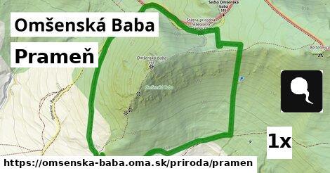 ilustračný obrázok k Prameň, Omšenská Baba