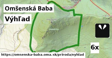 ilustračný obrázok k Výhľad, Omšenská Baba