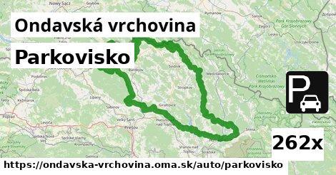 ilustračný obrázok k Parkovisko, Ondavská vrchovina