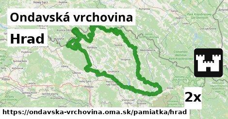 ilustračný obrázok k Hrad, Ondavská vrchovina