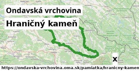ilustračný obrázok k Hraničný kameň, Ondavská vrchovina