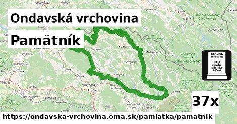 ilustračný obrázok k Pamätník, Ondavská vrchovina
