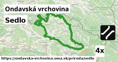 ilustračný obrázok k Sedlo, Ondavská vrchovina