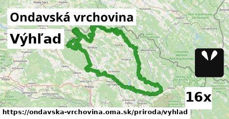 ilustračný obrázok k Výhľad, Ondavská vrchovina