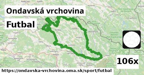 ilustračný obrázok k Futbal, Ondavská vrchovina