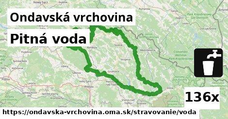 ilustračný obrázok k Pitná voda, Ondavská vrchovina