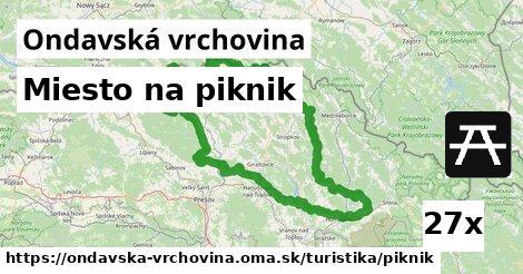 ilustračný obrázok k Miesto na piknik, Ondavská vrchovina