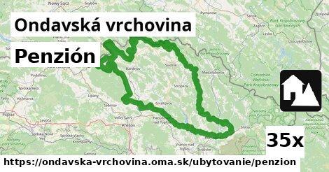 ilustračný obrázok k Penzión, Ondavská vrchovina