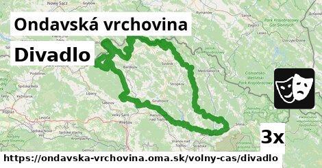 ilustračný obrázok k Divadlo, Ondavská vrchovina